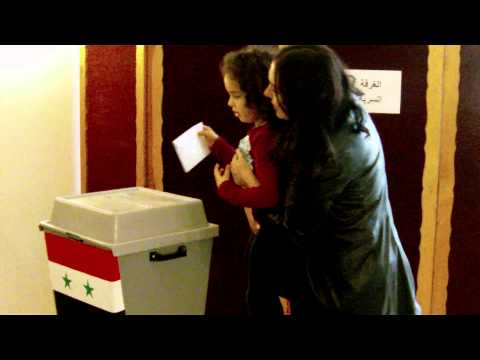 Prague: Syrian expats vote in presidential election 7