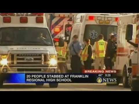 Pennsylvania High School Stabbing: More than 20 injured at Franklin Regional High