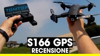 GoolRC CSJ S166 drone pieghevole con GPS, camera 1080p - Recensione e prova di Volo
