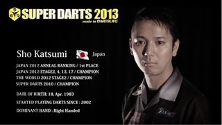 SUPER DARTS 2013 April 7th 12:00pm~(Hong Kong Time) Live on DARTSL...