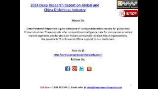 2014 Deep Research Report on Global and China Diclofenac Industry