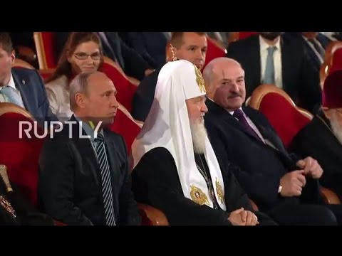 LIVE: Putin and Lukashenko congratulate Patriarch Kirill on his 70th birthday