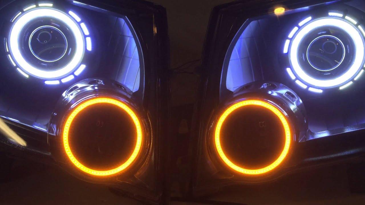 Nissan Xterra Projector Headlights Hid Angel Eyes Halos