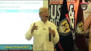 Prof Arief Rahman Seminar Pendidikan