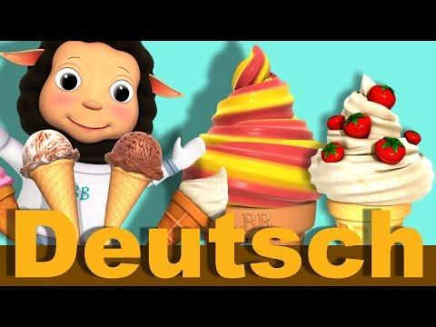 Eiscreme Lied | Kinderlieder | LittleBabyBum