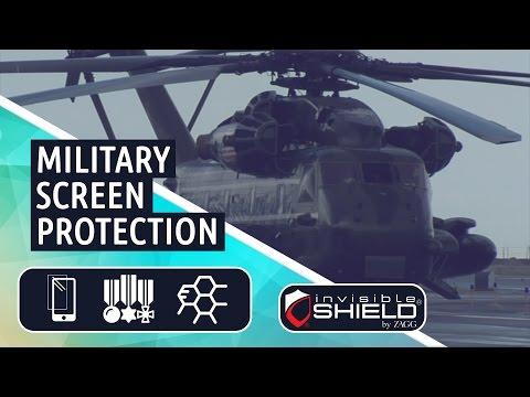 TechHouse - Zagg Invisible Shield Screen Protection- Military Grade Nano Tech
