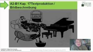 A2-B1 Kap.17 Textproduktion  Bildbeschreibung