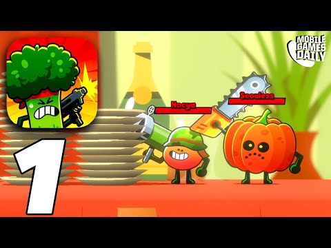 FOOD GANG - Gameplay Part 1 (iOS Android) from YouTube · Duration:  12 minutes 45 seconds