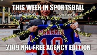 This Week In Sportsball: 2019 NHL Free Agency Edition