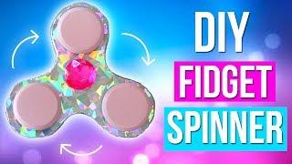 DIY- HAZ TU PROPIO FIDGET SPINNER CASERO | KARLA CELIS