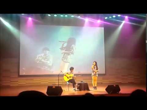 Sungha Jung - I'm Yours ft Odelia Sabrina (live in Jakarta)