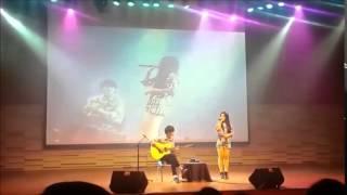 Sungha Jung I 39 m Yours ft Odelia Sabrina live in Jakarta
