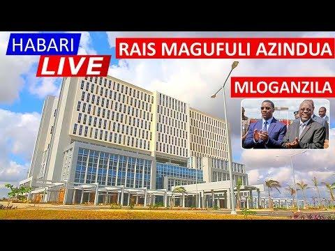 Download Rais Magufuli Akizindua Chuo Kikuu cha Muhimbili Mloganzila