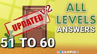 Escape Room Mystery Word Level 51 52 53 54 55 56 57 58 59 60 Answers Gameplay No Boosters