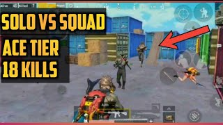 POCO F1 gameplay | 18 kills solo vs squad gameplay pubg mobile with funny voice effects