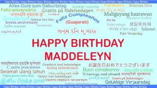 Maddeleyn   Languages Idiomas - Happy Birthday