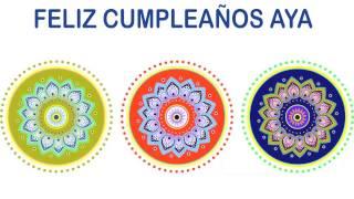 Aya   Indian Designs - Happy Birthday