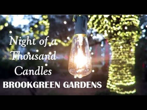 Brookgreen Gardens Night Of A Thousand Candles Full Experience 2016 Myrtle Beach Attractions