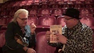 Ricky Skaggs talks to Rick Dollar at the Barter Theatre in Abingdon Virginia
