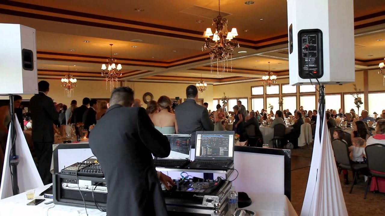 Wedding Dj With Introductions By Keane Dwf Whitetail Ridge Country Club You