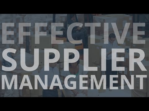 Halo for Supplier Management