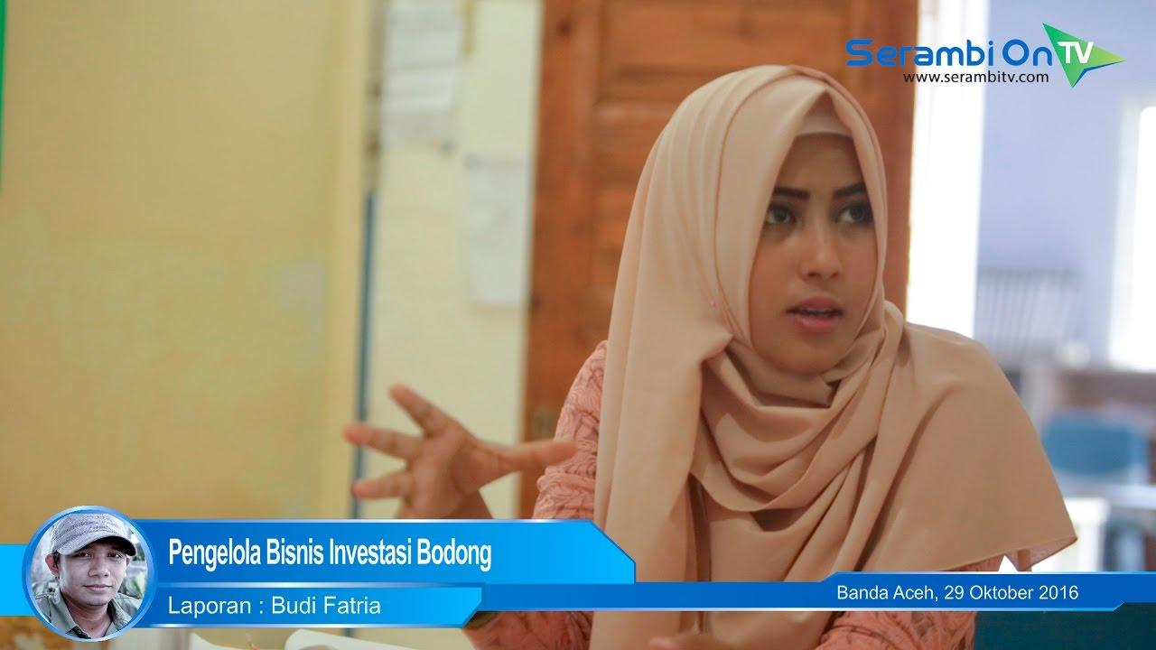 Video Pengelola Bisnis Investasi Bodong Serambi Indonesia