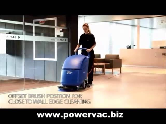 PowerVac Nilfisk Alto Scrubtec 343.2 Floor Scrubber