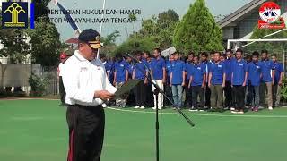 Pembukaan Turnamen Futsal Hari Bhakti Pemasyarakatan Ke-54 Tahun 2018 di Lapas Semarang
