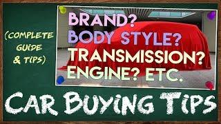 Mga Bagay na Dapat Malaman sa Pagbili ng Sasakyan || Car Buying Tips