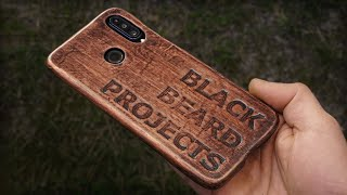 Make A Leather Smartphone Case At Home With Wet Molding