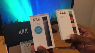 JUUL Starter Kit Unboxing, Setup and First Impression