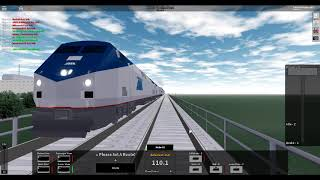 ROBLOX Rails Unlimited High Speed Amtrak