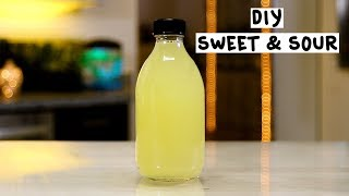 DIY Sweet and Sour - Tipsy Bartender