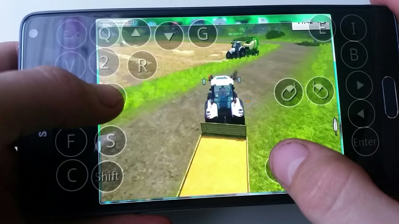 Farming simulator 2013 multiplayer on android(samsung galaxy note4.