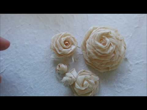 ASMR How to make Cypress Wood Roses