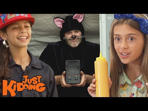Porta Potty Karate, Furry Costumes, & Demon Pies | Best Of Just Kidding Pranks