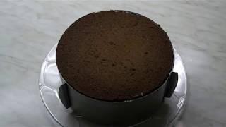Сборка Шоколадного тортика с БАНАНОВОЙ НАЧИНКОЙ - часть 1 /Chocolate cake with banana filling