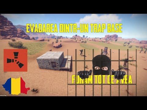 Rust - Evadarea dintr-un trap base ?