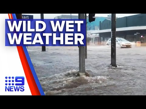 Wild Storm Hits Sydney   9 News Australia