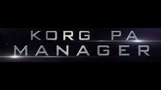 korg pa manager full crack