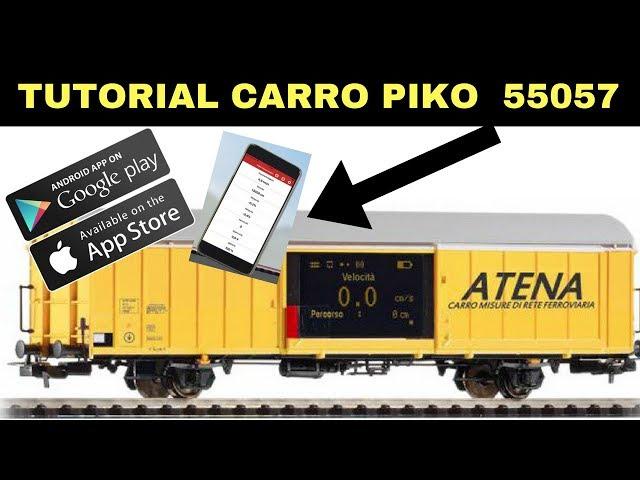 CARRO MISURAZIONE PIKO 55057: funzionalità e utilizzo (parte2)