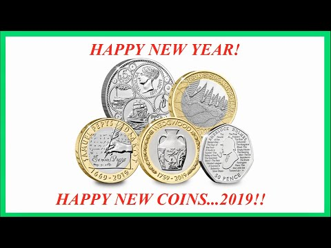 NEW 2019 UK COMMEMORATIVE COINS - FIRST LOOK!! || ROYAL MINT || 2019 VIDEO