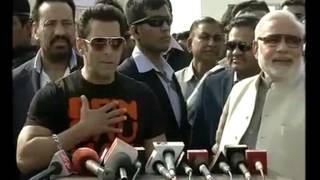 Salman Khan and Narendra Modi's Live Interview