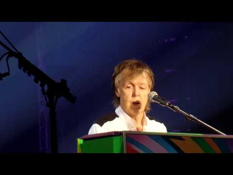 Paul McCartney-Let it Be,  Live and Let Die, Hey Jude-Centurylink, Bossier City, LA, July 15, 2017