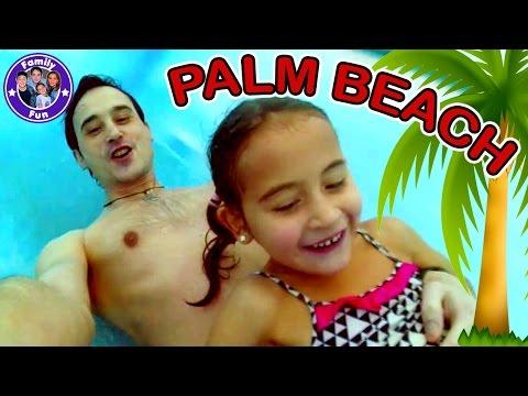 Action und Fun im Kristall Palm Beach in Nürnberg - Wasserspaß im Freizeitbad