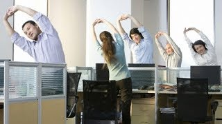 Healthy habits at workplace -