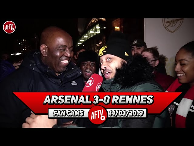 Arsenal 3-0 Rennes   Aubame Who? (Troopz)