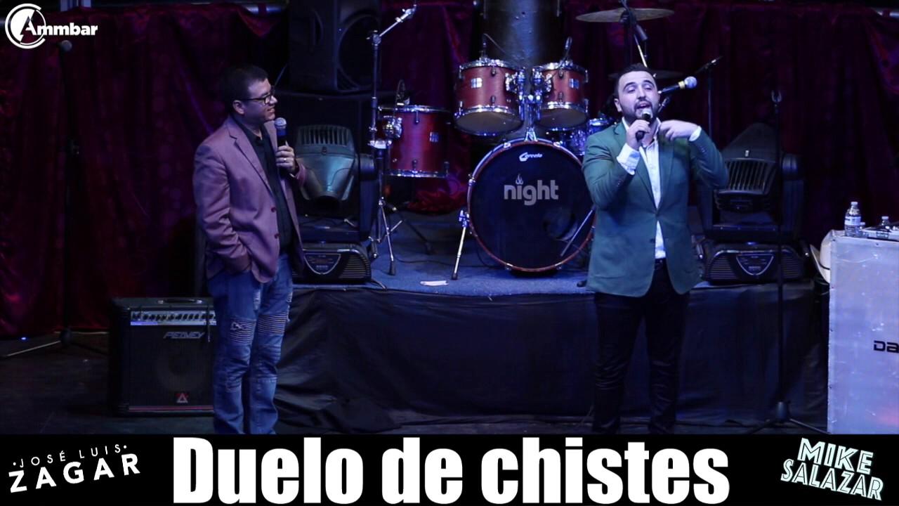 Mike Salazar y Jose Luis Zagar Duelo de chistes