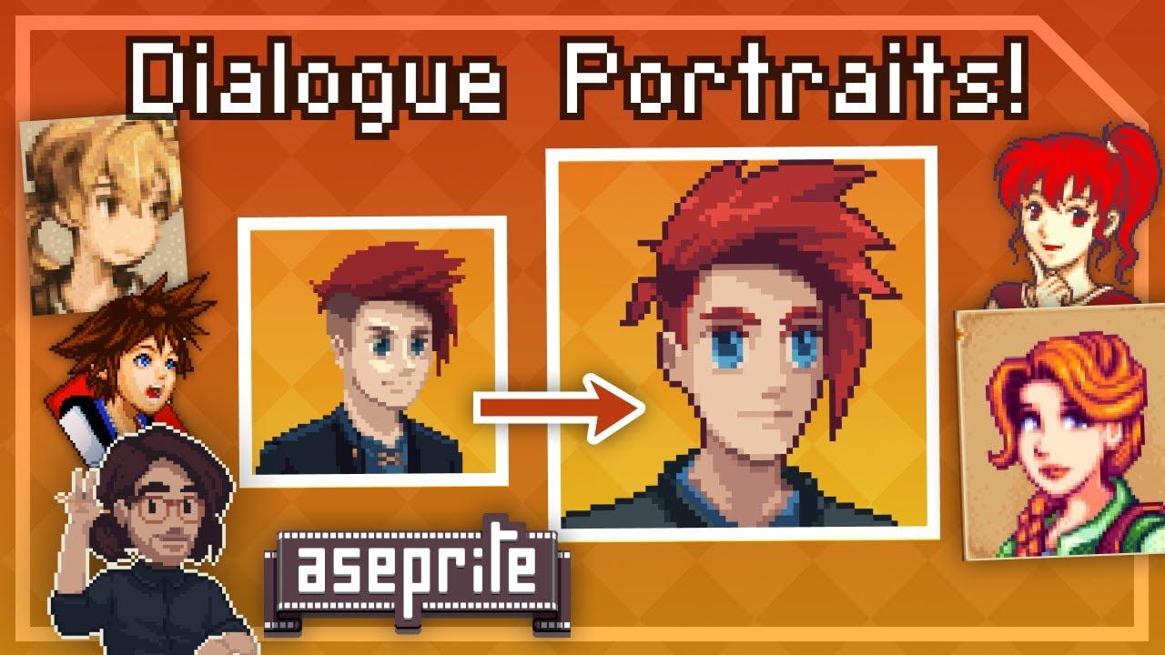 Pixel Art Class - Introduction To Portraits!