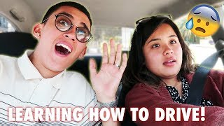 TEACHING MY GIRLFRIEND HOW TO DRIVE PART 2!!! ***MUST WATCH***